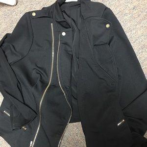 Jackets & Blazers - Midnight bomber jacket